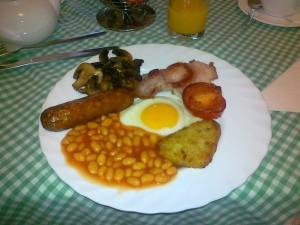 Random image: Anglická snídaně