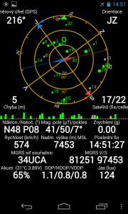 Random image: kompas a souřadnice